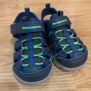 Toddler sketcher sandals